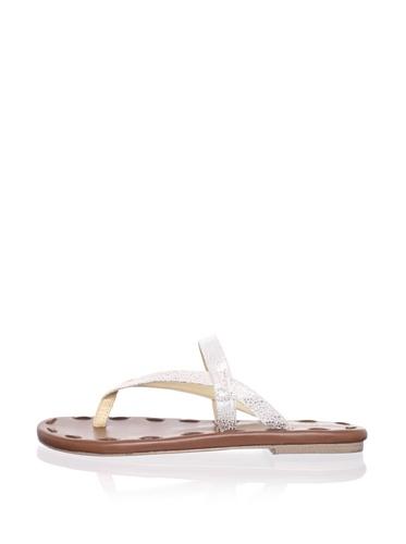 Matt Bernson Women's Love Sandal (Silver)