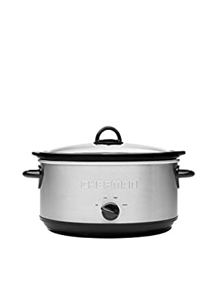 Chefman 7-Qt. Stainless Steel Oval Slow Cooker