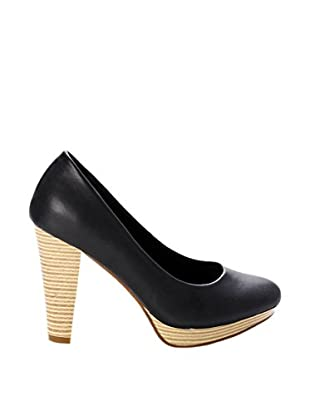 Destroy Zapatos Madera (Negro)