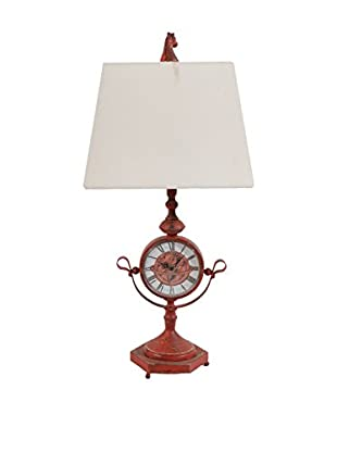 Table Lamp, Red