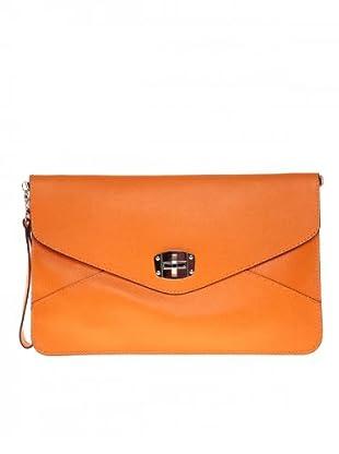 Elysa Umschlag Clutch (Orange)