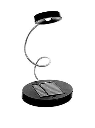 Trademark Home Solar Powered Flex LED Desk Lamp, Black