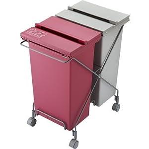 【クリックでお店のこの商品のページへ】Container Style. スチールワゴン CS2-40 MX2 GCON045