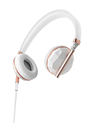 Caeden Linea Nº1 On-Ear Headphone, Faceted Ceramic/Rose Gold