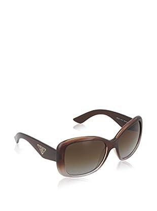 Prada Gafas de Sol Polarized 32PS PDM6E1 (57 mm) Marrón