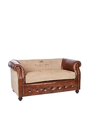MODERN CONCEPT Sofa braun/beige