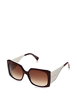Alexander McQueen Gafas de Sol AMQ4274/S (57 mm) Burdeos