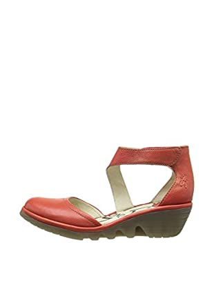 Fly London Zapatos Piat (Rojo)