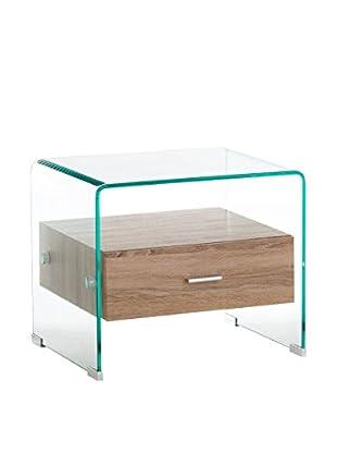 Tomasucci Nachttisch Gigo transparent/natur