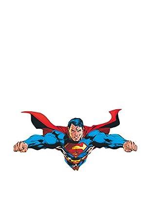 ArtopWeb Panel de Madera Dc Comics Flying Over Metropolis