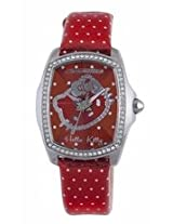 Hello Kitty By Chronotech Red Dial Ladies Watch Ct.7105Ls/41