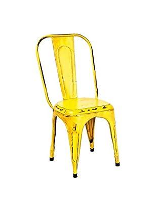 Multicolor Home Stuhl 4er Set Industry gelb