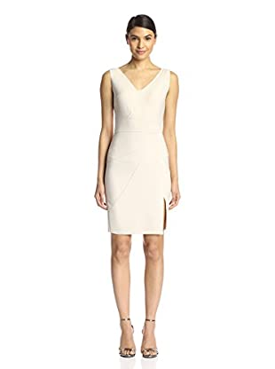 Halston Heritage Women's Fitted Dress with Seam Detail