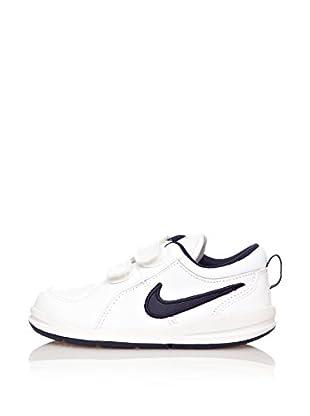 Nike Zapatillas Pico 4 (Tdv) (Blanco / Azul Marino)