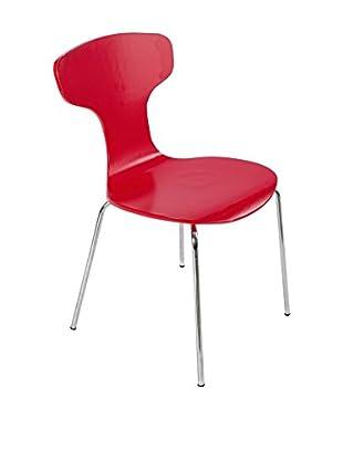 Special Home Set Silla 4 Uds. Lyon Rojo