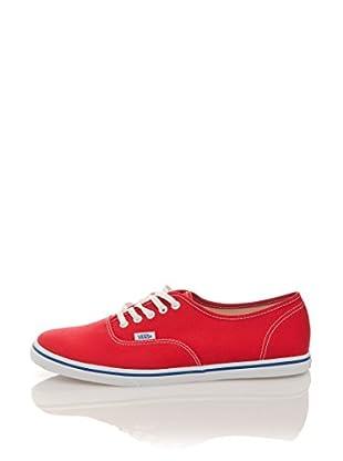 Vans Zapatillas U Authentic Lo Pro (Rojo / Blanco)