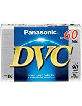 Samsung SCD-903 Camcorder 60 Minutes Mini DV Video Cassette - Replacement by Panasonic