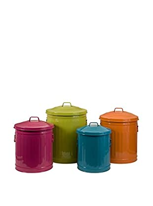Set of 4 Edison Brights Storage Cans