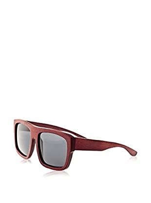 Earth Wood Sunglasses Gafas de Sol Wood Hermosa (57 mm) Marrón