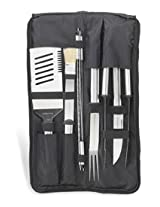 Picnic at Ascot 9-Piece Stainless Barbecue Set