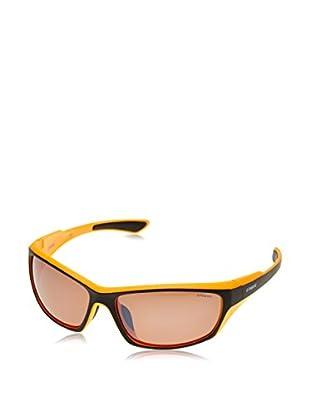 Polaroid Sonnenbrille P73156316119 (63 mm) granatrot/orange