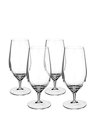 Villeroy & Boch Set of 4 Purismo 12-Oz. Beer Glasses, Clear