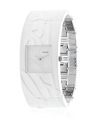 Guess Reloj de cuarzo Woman Blanco / Plateado 26 mm