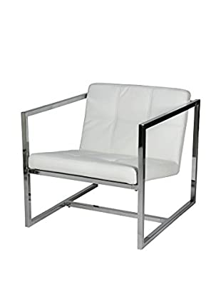 Whiteline Lisa Chair, White