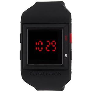Fastrack Casual Digital Black Dial Men's Watch - 38012PP01J