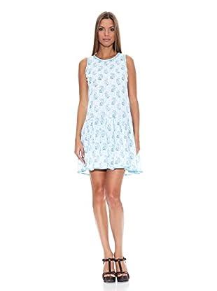 Tantra Vestido Print (Azul)