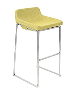 LumiSource Satori Bar Stool Stacker, Green