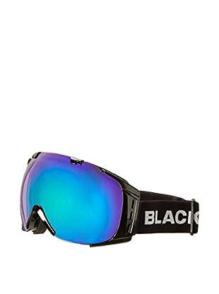 Black Crevice Skibrille Warh schwarz/grün