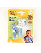 Baby Buddy - Bear Pacifier Holder Blue (1 pack of 18 items)