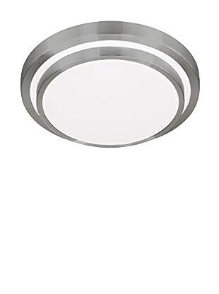 WOFI Deckenleuchte LED Oslo aluminium/weiß