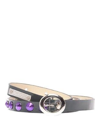 Custo Cinturón (gris plomo)