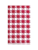 """Charmed celebrations RED GINGHAM 54""""x108"""" Table Cover"""