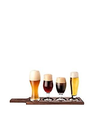 Final Touch 6-Piece Beer Tasting Paddle Set