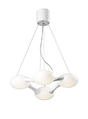 Light&Design Lámpara De Suspensión Milan Blanco