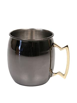 Jodhpuri 16-Oz. Moscow Mule Mug, Black Nickel