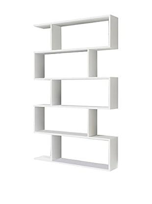 Minar Bücherregal Voland weiß