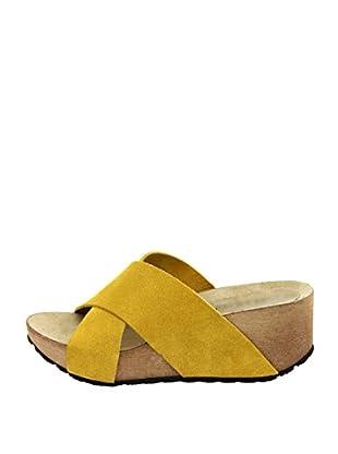 La Comoda Sandalias María (Amarillo)