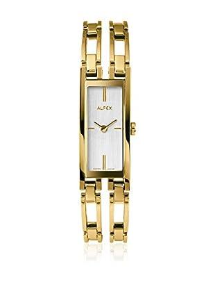 Alfex Quarzuhr 5663_021 16 mm gelbgold