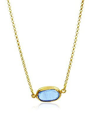 My Silver Gargantilla Glamorous Azul