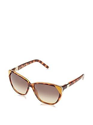Chloè Gafas de Sol CE600S (60 mm) Havana / Ocre