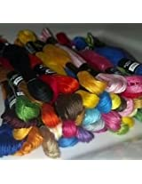 Embroidery Thread 100 Cross Stitch Thread Floss/Skeins 20 Colors With Needles With 10 Needles Free Cross Stitch Deal Price Saving Pack DEAL PRICE FOR LAST 2 DAYS 699 AFTER 899