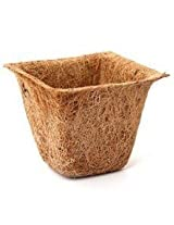 COCO FIBER NATURAL COIR SPANISH POTTER CUP FOR GARDEN PLANTS- 4 Pcs