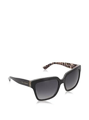 Dolce & Gabbana Sonnenbrille Polarized 4234_2857T3 (66.4 mm) schwarz