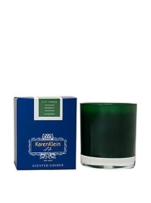 Karen Klein Life Florentine 10.25-Oz. Solid Candle, Cucumber/Neroli