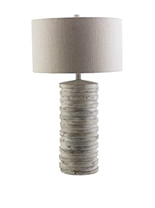 Surya Sulak 1-Light Table Lamp, White Wash