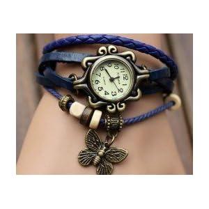 Trendy Ladies leather watch